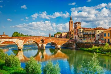 Randonnee Tours offers cycling tours from Parma to Verona, Italy